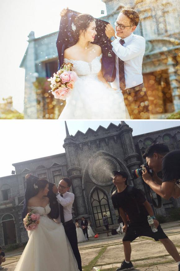 ảnh cưới, ảnh sống ảo, hậu trường chụp ảnh