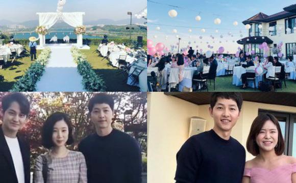 diễn viên Song Joong Ki, song joong ki chạy show đám cưới, song hye kyo