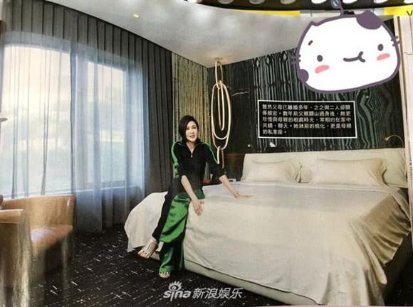 nhà sao, Quan Chi Lâm, nhà của Quan Chi Lâm, đại mỹ nhân Hong Kong