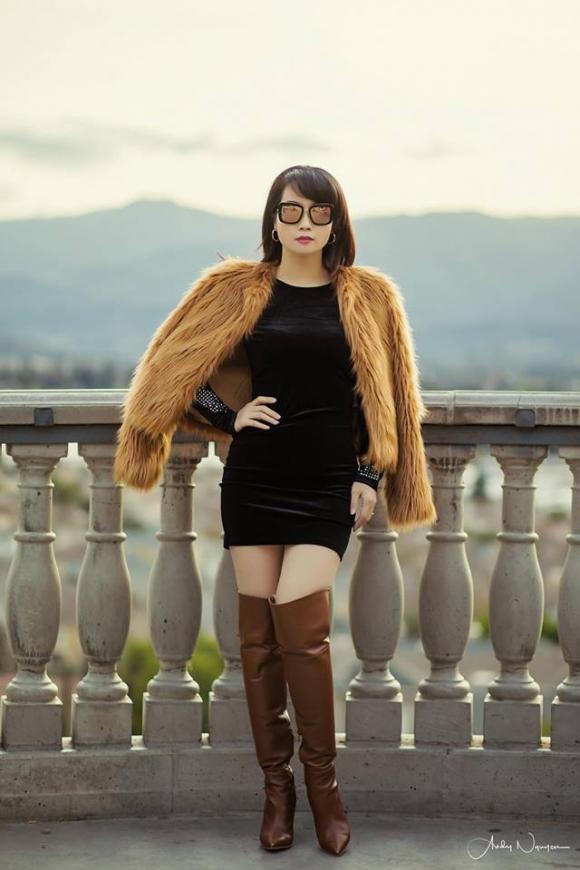 Mai Thu Huyền phối đồ sành điệu như fashionista chuyên nghiệp