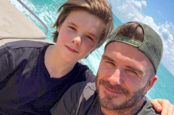 Cruz Beckham, con trai út của david beckham, thử giọng ở Hàn Quốc
