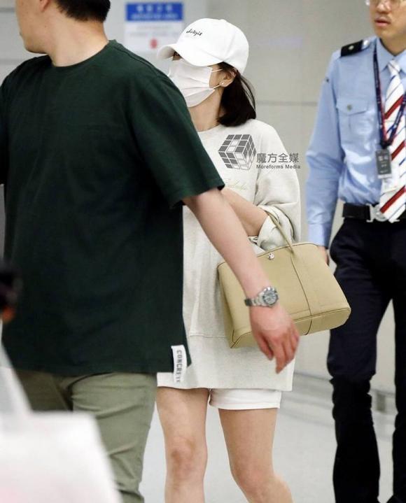 Diễn viên Song Hye Kyo,túi xách Hermes,thời trang Song Hye Kyo