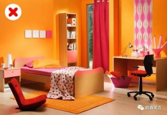 phối màu cho ngôi nhà, thiết kế nội thất, sai lầm thiết kế nội thất