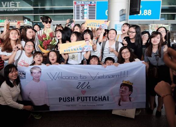 Push Puttichai, sao Thái Lan, sao đến việt nam