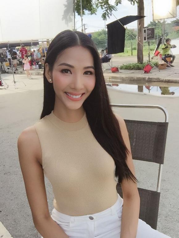 Hoàng Thùy, bí quyết tăng cân, sao Việt