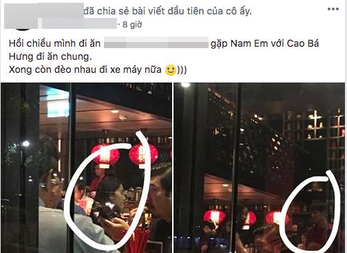 Nam Em, Cao Bá Hưng, sao Việt