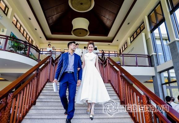 Hoa hậu Bùi Thị Hà, sao việt, NTK Đỗ Mạnh Cường