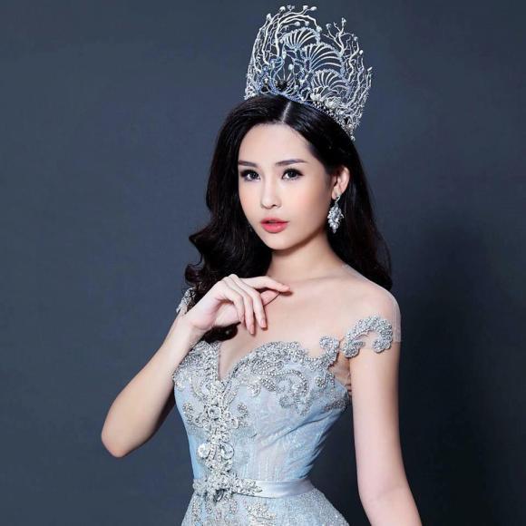 Lê Âu Ngân Anh, Hoa hậu Đại dương, sao Việt