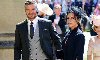 Romeo Beckham,con trai David Beckham, victoria beckham