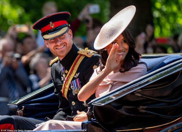 Công nương Kate xinh đẹp quý phái,sinh nhật nữ hoàng Anh, công nương meghan markle