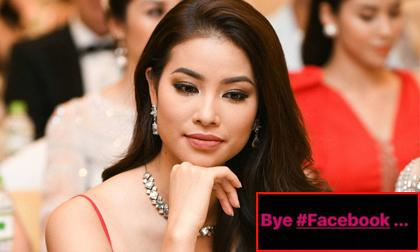 Hoa hậu phạm hương,hoa hậu hoàn vũ việt nam 2015,phạm hương dừng facebook