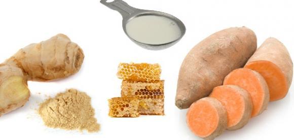 mặt nạ dưỡng trắng da từ củ khoai lang, khoai lang, mặt nạ khoai lang, mặt nạ trắng da từ khoai lang, mặt nạ dưỡng trắng da khoai lang