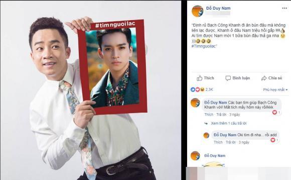 trào lưu tìm người lạc,diễn viên Lê Phương,sao Việt