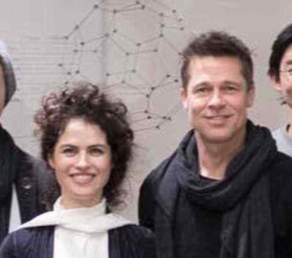 diễn viên Brad Pitt,Nữ kiến trúc sư xinh đẹp, sao Hollywood