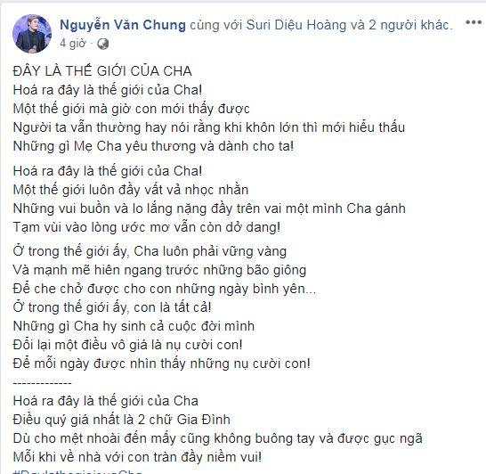 sao Việt, ngày của bố, Lam Trường, Hồ Ngọc Hà