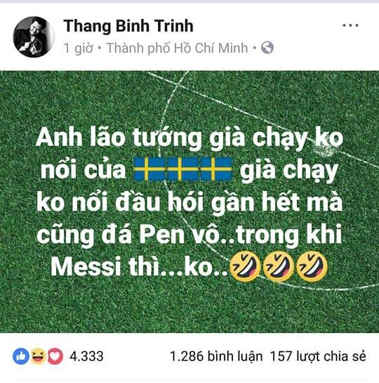 Trịnh Thăng Bình, sao việt