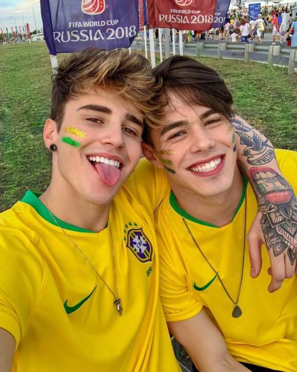 Alex Mapeli, trai đẹp mê Brazil, World Cup 2018