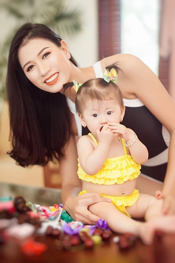 Trang Trần, người mẫu Trang Trần, sao Việt, con gái Trang Trần