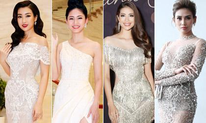 nữ hoàng thảm đỏ,showbiz Việt,sao Việt, Trương Quỳnh Anh, Chi Pu, Phạm Hương, H'Hen Nie, Hương Giang