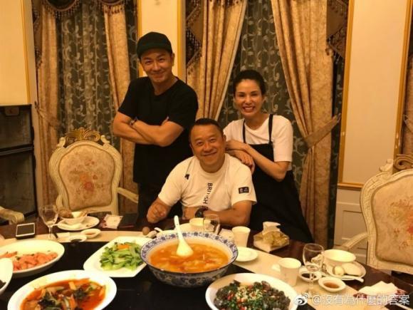Lý Nhược Đồng,Sao 'Thiên long bát bộ',Sao Hongkong, trần hạo dân