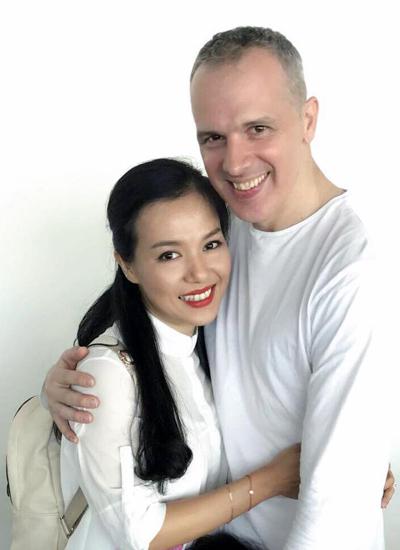 đám cưới Lý Thanh Thảo,vợ chồng Lý Thanh Thảo,diễn viên Lý Thanh Thảo,Lý Thanh Thảo kết hôn với chồng Tây