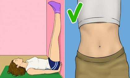 Bài tập giảm béo sau sinh, giảm béo sau sinh, giảm cân