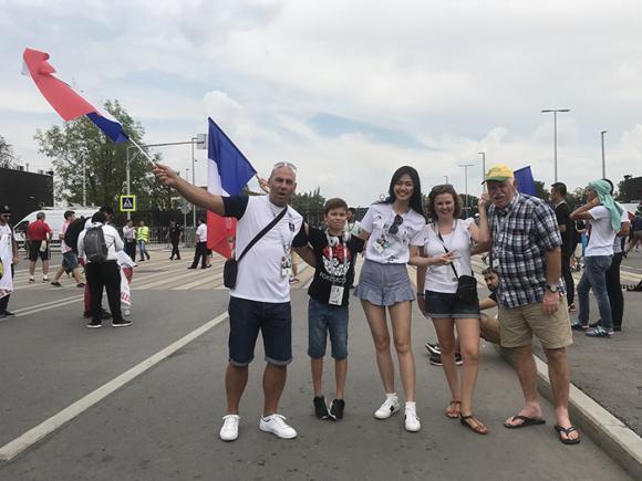 Thanh Tú, World Cup 2018, sao Việt