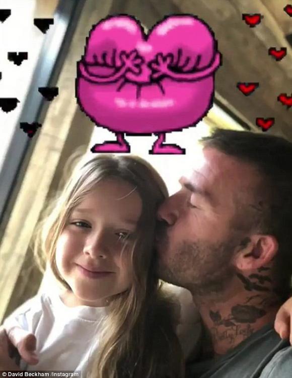 Harper Seven Beckham, sao nhí