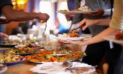 ăn buffet, đi ăn, kinh nghiệm ăn uống