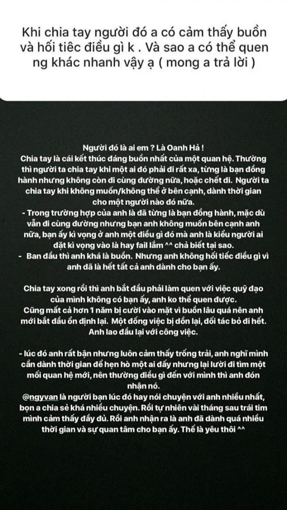 Hoàng Oanh, Huỳnh Anh, sao Việt