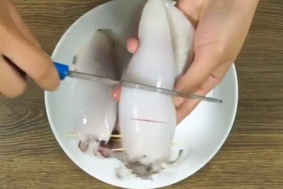 Cách làm món mực ống nhồi thịt hấp ngon tuyệt cú mèo