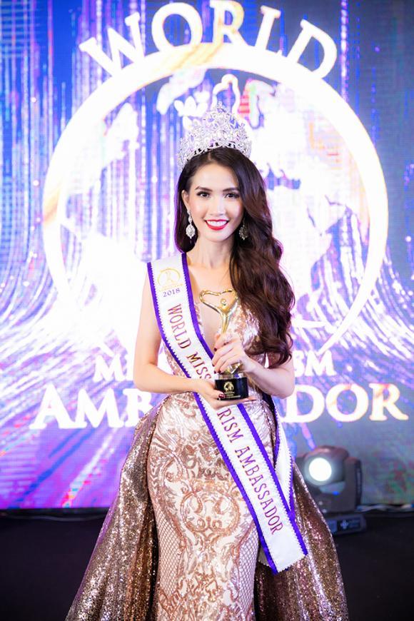 phan thị mơ, phan thị mơ đăng quang hoa hậu, hoa hậu đại sứ du lịch thế giới 2018