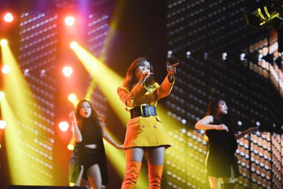 Thu Phương, Giọng hát Việt 2018, sao Việt, Tóc Tiên