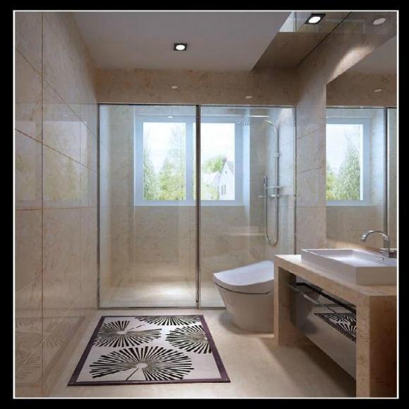 chiếc lỗ trên tường phòng tắm, lỗ thông khí, nội thất đẹp
