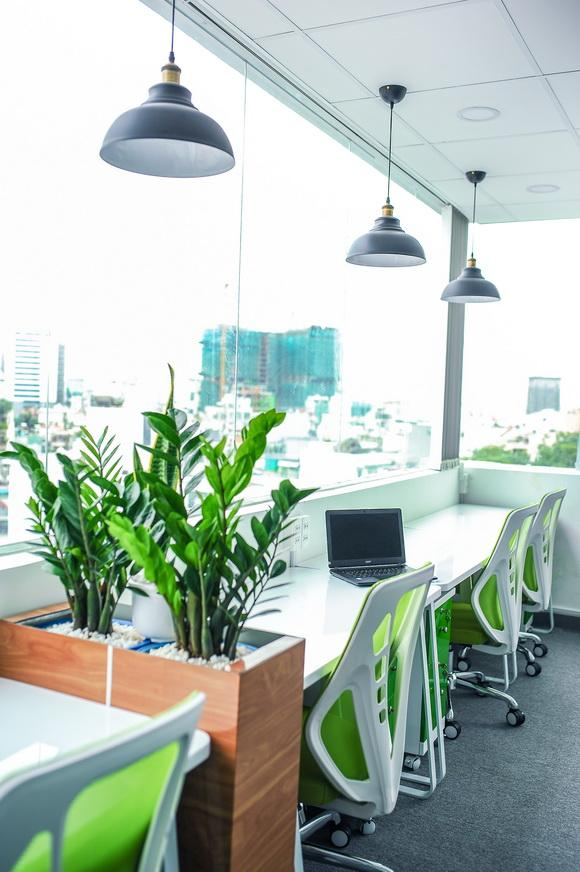 Green Hub, Thuê chỗ ngồi làm việc, Dịch vụ văn phòng