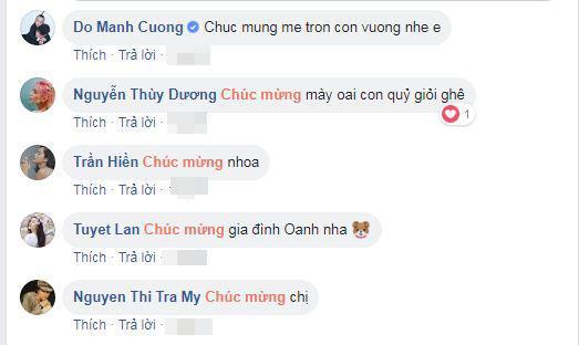 người mẫu Hoàng Oanh, sao Việt