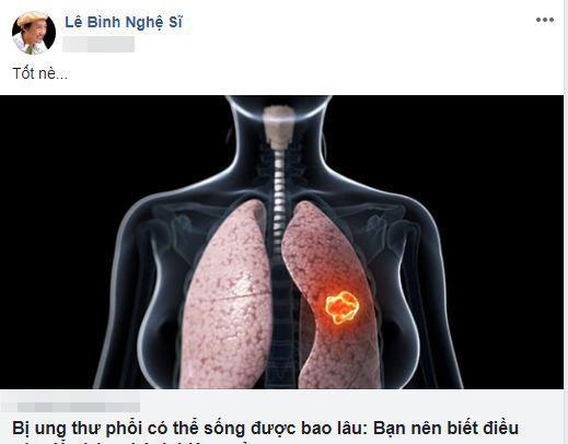 nghệ sĩ Lê Bình, ung thư phổi, sao Việt, diễn viên Mai Phương
