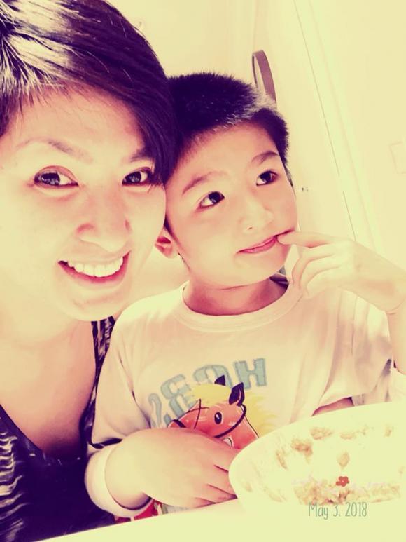 Nguyễn Hồng Nhung, con trai Nguyễn Hồng Nhung, sao Việt