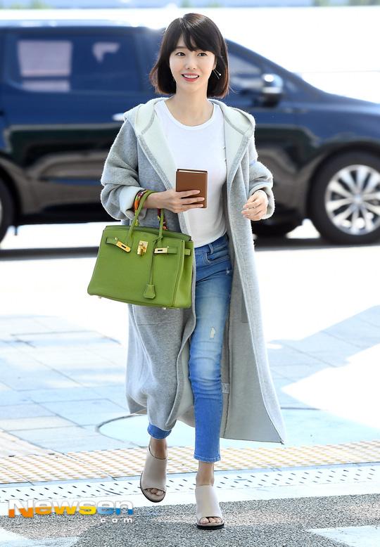 Taeyeon (SNSD), Sulli, thời trang sân bay, sao hàn