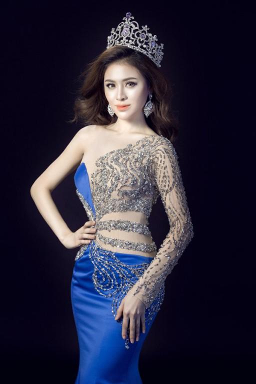 á hậu Thư Dung,Thư Dung là ai,sao Việt
