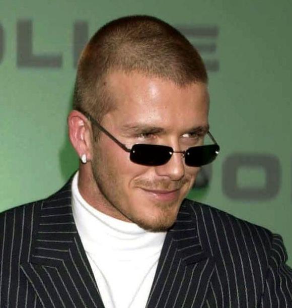 David Beckham,Beckham hói đầu,sao Hollywood