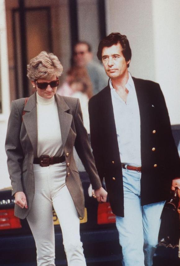 Công nương Diana,tình cũ của Diana,Oliver Hoare,Thái tử Charles
