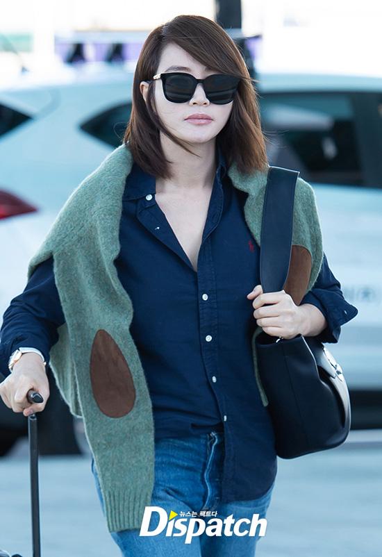 Thời trang sân bay sao Hàn, Kim Hye Soo, Ki Eun Se