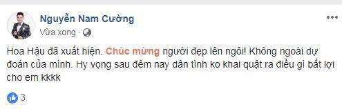 Hoa hậu Việt Nam 2018, sao Việt, Trần Tiểu Vy,