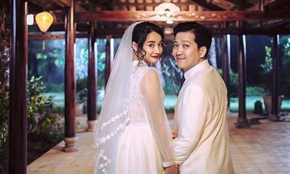 Nhã Phương,Trường Giang,váy cưới của Nhã Phương,đám cưới Trường Giang Nhã Phương