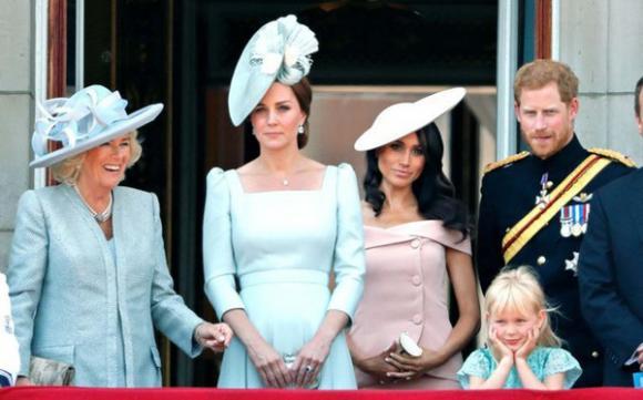 Công nương Kate,Công nương Meghan Markle,bà Camilla