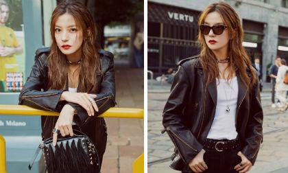 Triệu Vy,tuần lễ thời trang Milan,sao Hoa ngữ