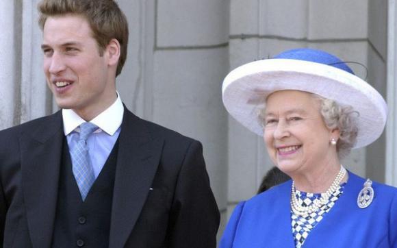Hoàng tử William,Kate Middleton,Nữ hoàng Anh