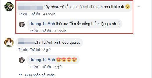 Á hậu Tú Anh, Dương Tú Anh, chồng Tú Anh, sao Việt