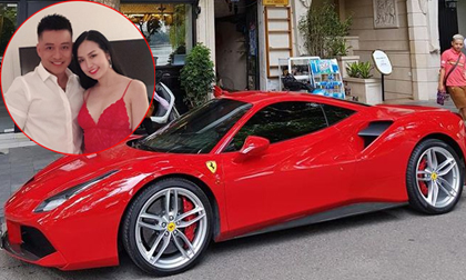siêu xe Ferrari,Tuấn Hưng, siêu xe Ferrari Tuấn Hưng